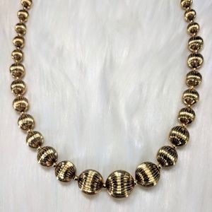 Jewelry - Gold Ball Necklace